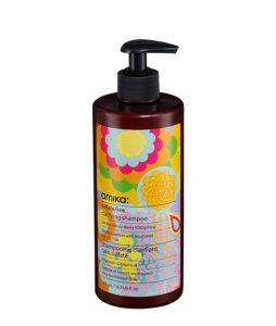 שמפו ללא מלחים לשיער שומני