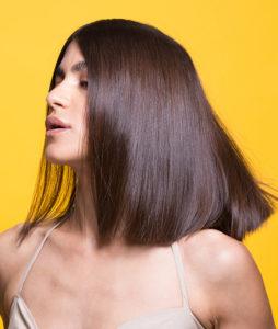 שיער לאחר חפיפה בשמפו ללא מלחים