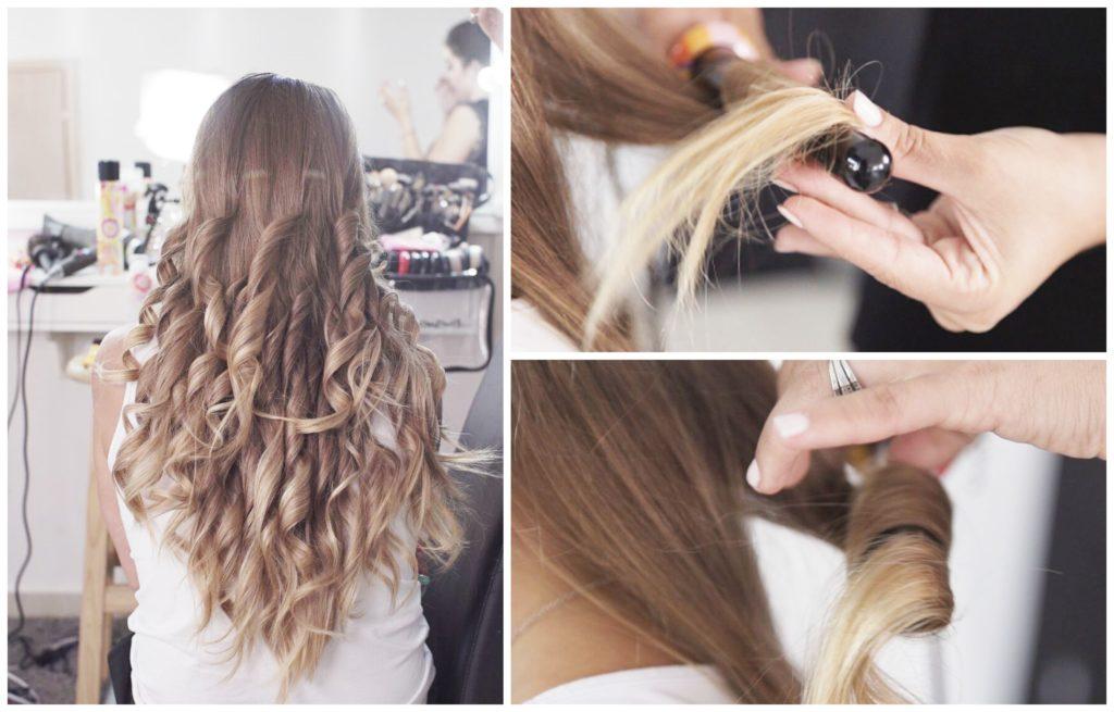 סלסול השיער - מסלסל שיער אמיקה