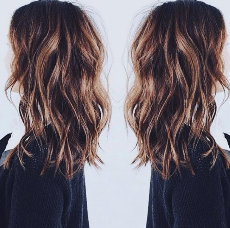 שיער לאחר מסלסל שיער