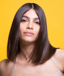 שיער חלק ובעל ברק - שימוש במחליק אמיקה