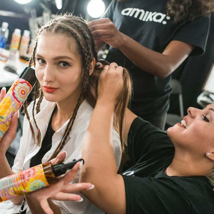 עיצוב שיער - מוצרי טיפוח של אמיקה