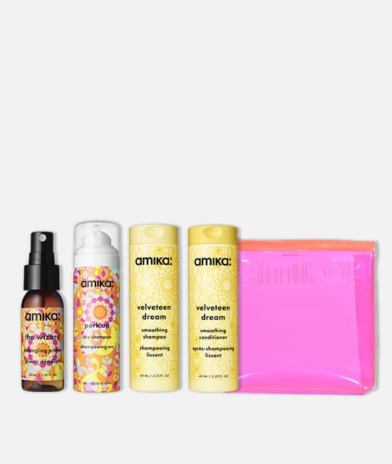 קיט velveteen dream travel set
