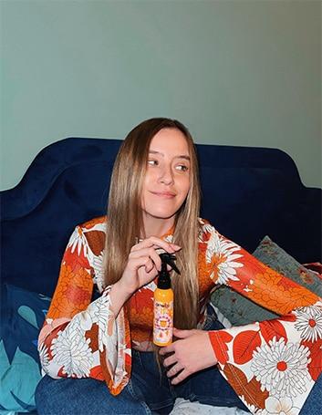 מוצרי השיער המעודפים של נסטיה לישנסקי