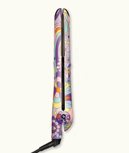silk glide מחליק טיטניום גולמי סגול